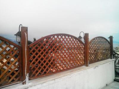 Realizzazione grigliati arredo caserta campania for Grigliato ad arco